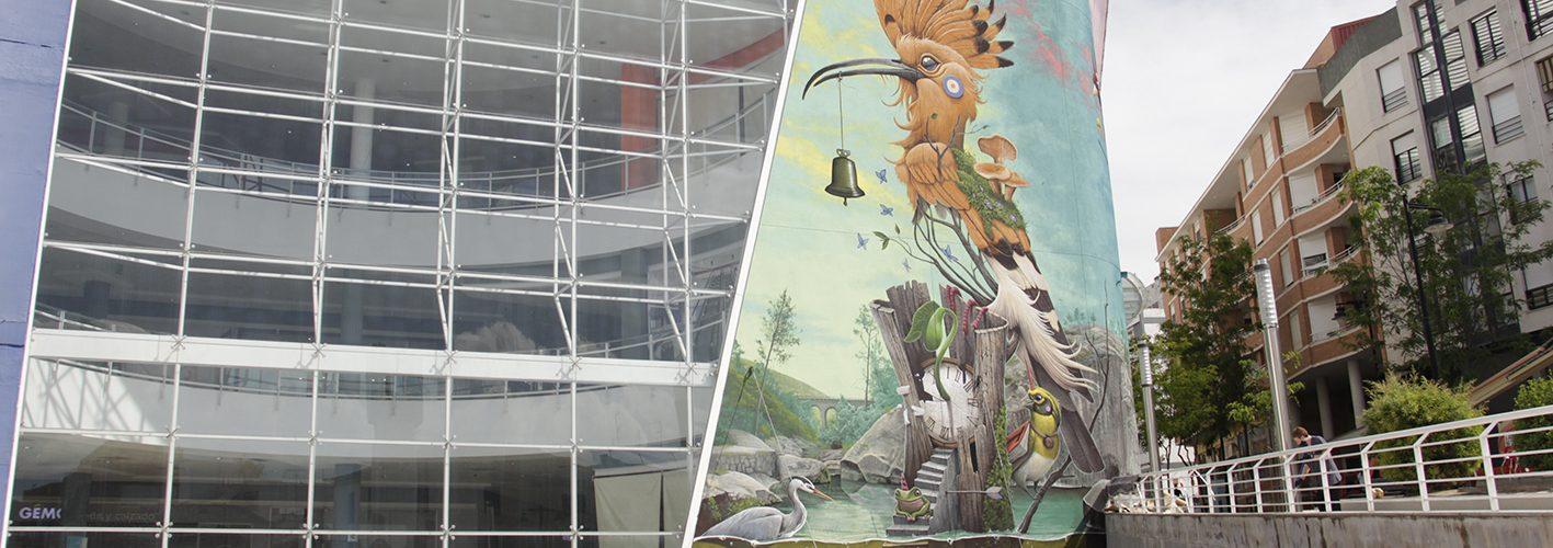 Ontinyent en viu - 'Dulk' inaugura el seu mural a El Teler ON TV - El Periòdic d'Ontinyent