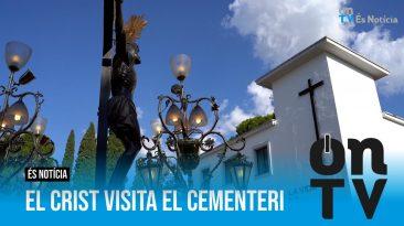 El Crist visita el Cementeri i torna a Santa Ana ON TV - El Periòdic d'Ontinyent