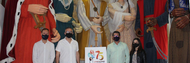 Un aniversari on tota la ciutadania està convidada-75 aniversari dels Gegants Moros i Cristians ON TV - El Periòdic d'Ontinyent